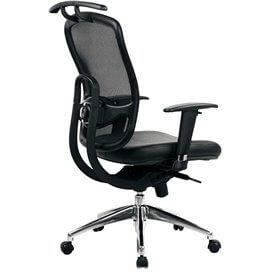 arlington-ergonomisk-stol-med-hog-rygg-och-inkluderad-rockhangare-med-kromat-kryss-svart